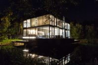 glass house at the lakes. gloucestershire